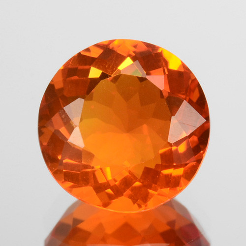 0.79 Cts Natural Top Orange Fire Opal Mexico Gem (Video Avl)