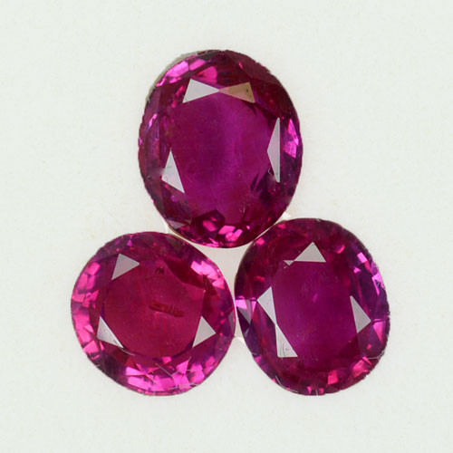 2.40 Cts Natural Pink Ruby Tanzania Heated Gem