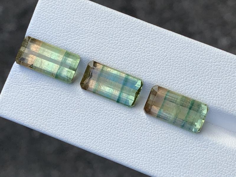 16.45 Carats Natural Bi Color Tourmaline Gemstone