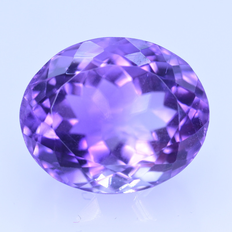 10.07 Cts Amazing Amethyst Brilliant Cut and Color - AMT31