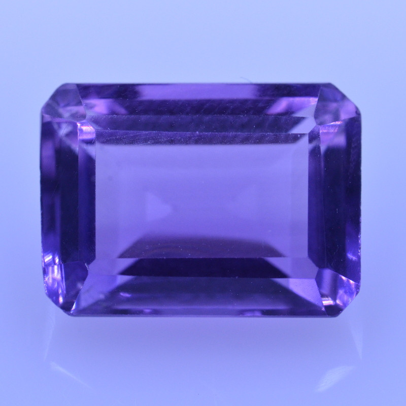 6.95 Cts Amazing Amethyst Brilliant Cut and Color - AMT34