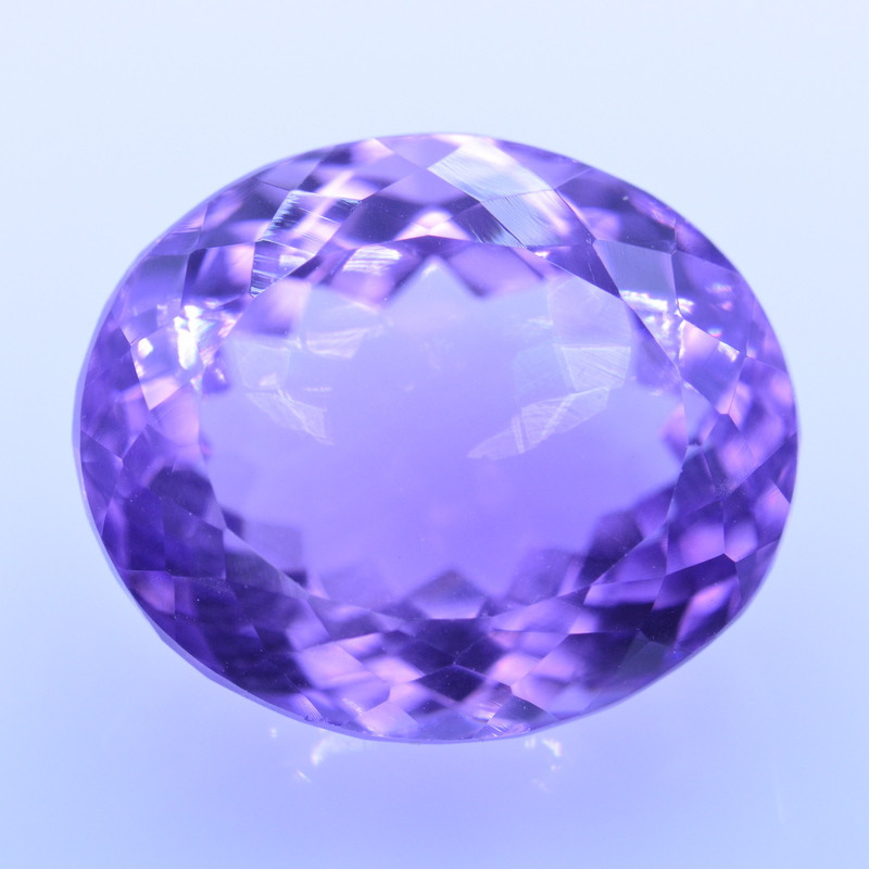 9.98 Cts Amazing Amethyst Brilliant Cut and Color - AMT35