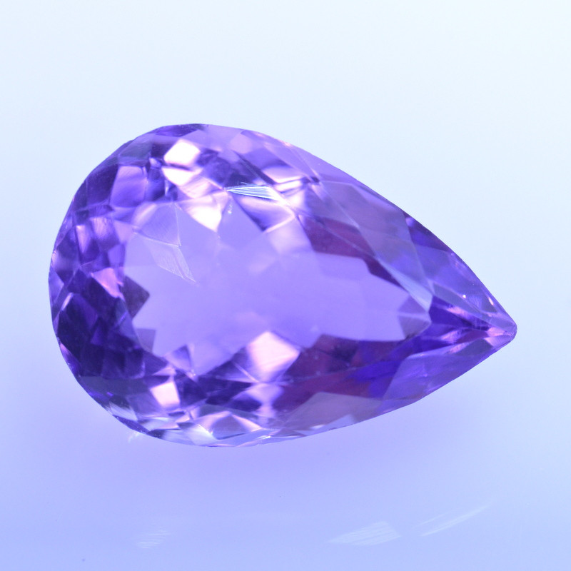 9.76 Cts Amazing Amethyst Brilliant Cut and Color - AMT41