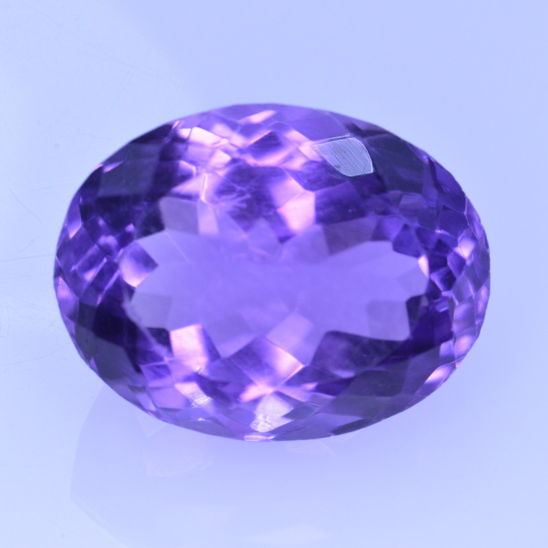 9.35 Cts Amazing Amethyst Brilliant Cut and Color - AMT43