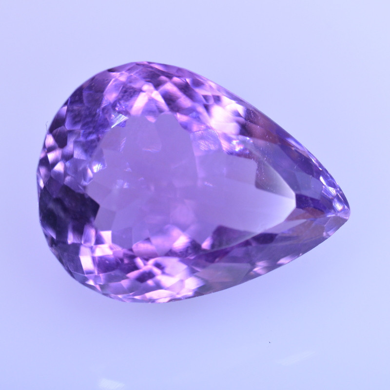 9.19 Cts Amazing Amethyst Brilliant Cut and Color - AMT47