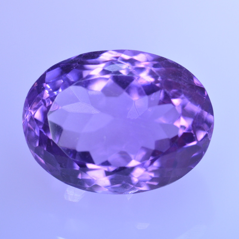 8.56 Cts Amazing Amethyst Brilliant Cut and Color - AMT48