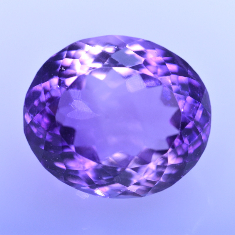 10.13 Cts Amazing Amethyst Brilliant Cut and Color - AMT50