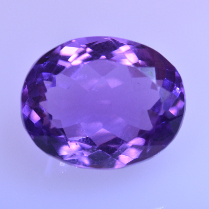 8.83 Cts Amazing Amethyst Brilliant Cut and Color - AMT52