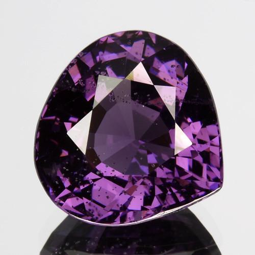4.14 Cts Sparkling Natural Spinel Purple Heart Mix Srilanka Gem