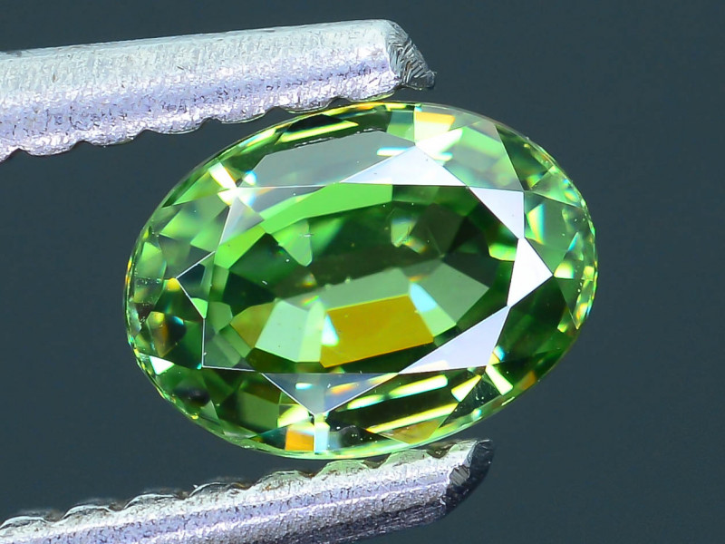Demantoid Garnet AAA Clarity 0.64 ct Nigeria SKU.8