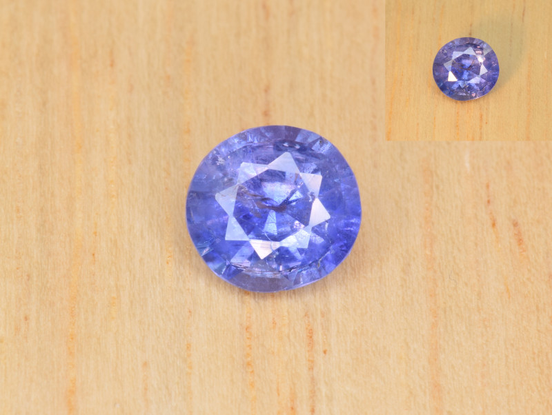 Natural Color Changing Sapphire 0.97 Cts from Afghanistan