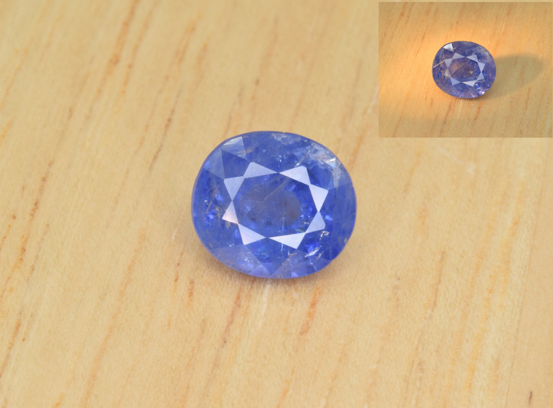 Natural Color Changing Sapphire 2.36 Cts from Afghanistan