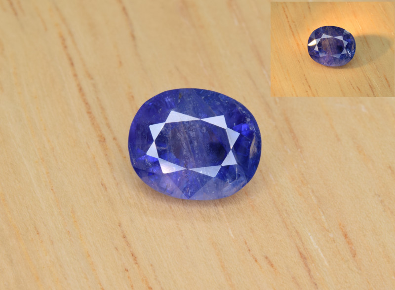 Natural Color Changing Sapphire 3.65 Cts from Afghanistan