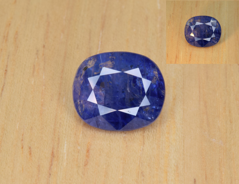 Natural Color Changing Sapphire 3.73 Cts from Afghanistan