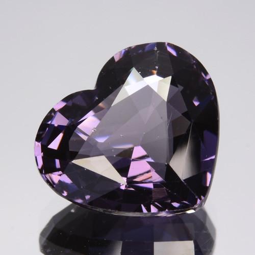 3.94 Cts Sparkling Natural Spinel Purple Heart Srilanka Gem