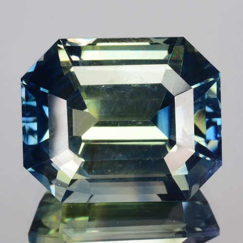 11.43  Cts Natural Bi-Color Sapphire SriLanka UnHeated Gem (Video