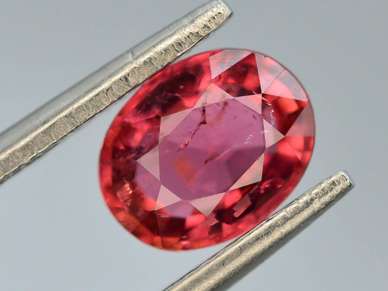 Top Color 1.35 ct Natural Pink Color Tourmaline ~ ABS
