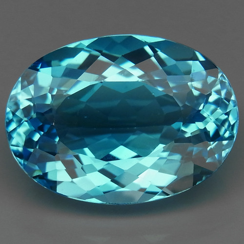 20.67  ct. 100% Natural Top Quality  Sky Blue Topaz Brazil