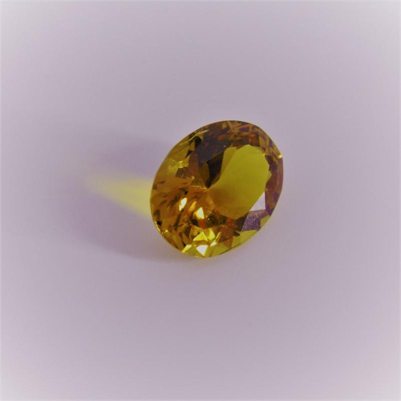 Yellow Tourmaline Gemstone