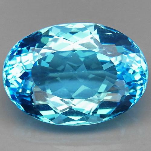 26.74 ct. 100% Natural Top Quality Sky Blue Topaz Brazil