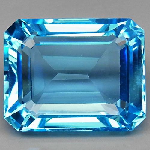 24.50 ct. 100% Natural Top Quality Sky Blue Topaz Brazil