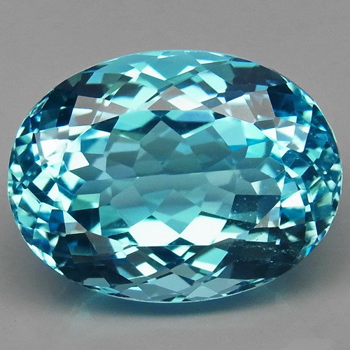 20.58 ct. 100% Natural Earth Mined Top Quality Blue Topaz Brazil