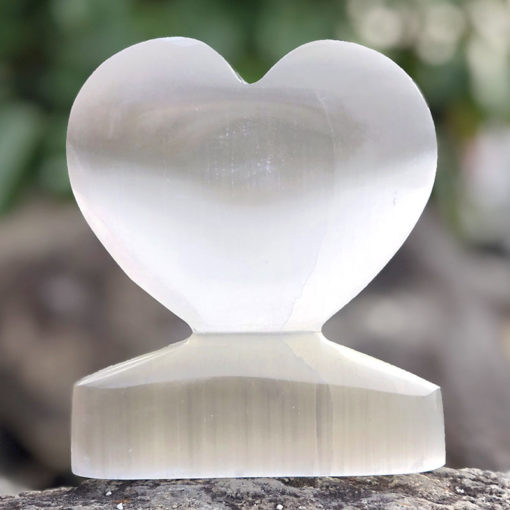 Large Holistic Selenite Heart