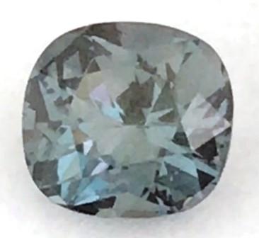 Pretty Blueish Grey Cushion Cut Spinel - Burma Ref 2241