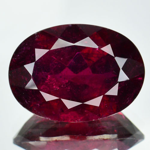 7.36 Cts Natural Raspberry Pink Rubelite Tourmaline Mozambique Gem