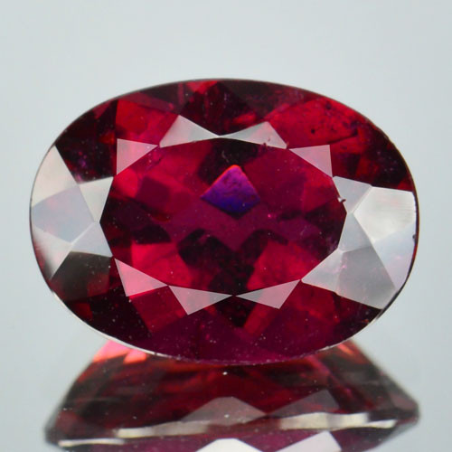 3.11 Cts Natural Raspberry Pink Rubelite Tourmaline Mozambique Gem