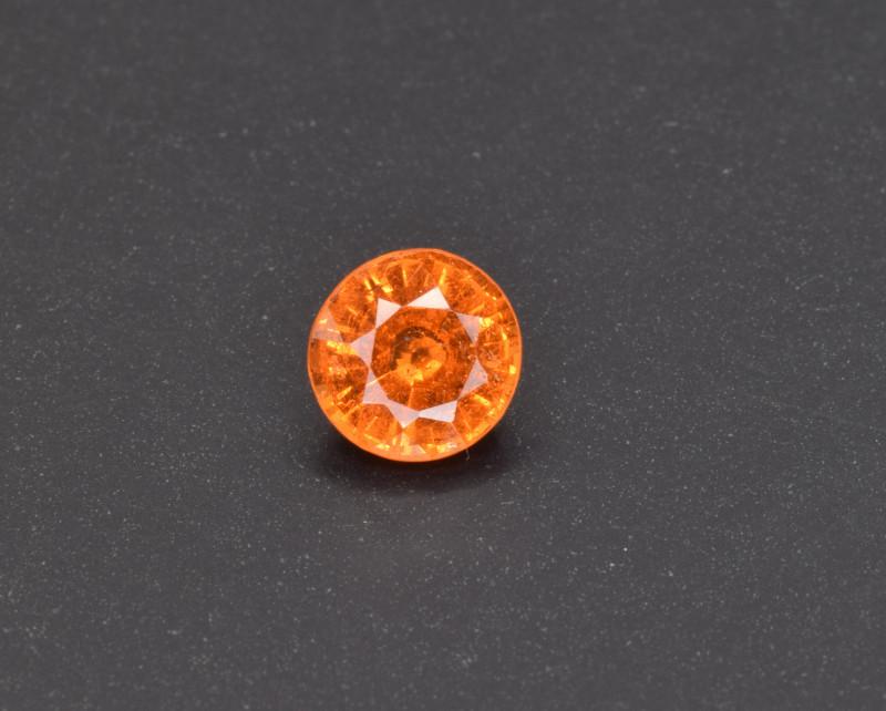 Natural Spessertite Garnet 0.77 Cts