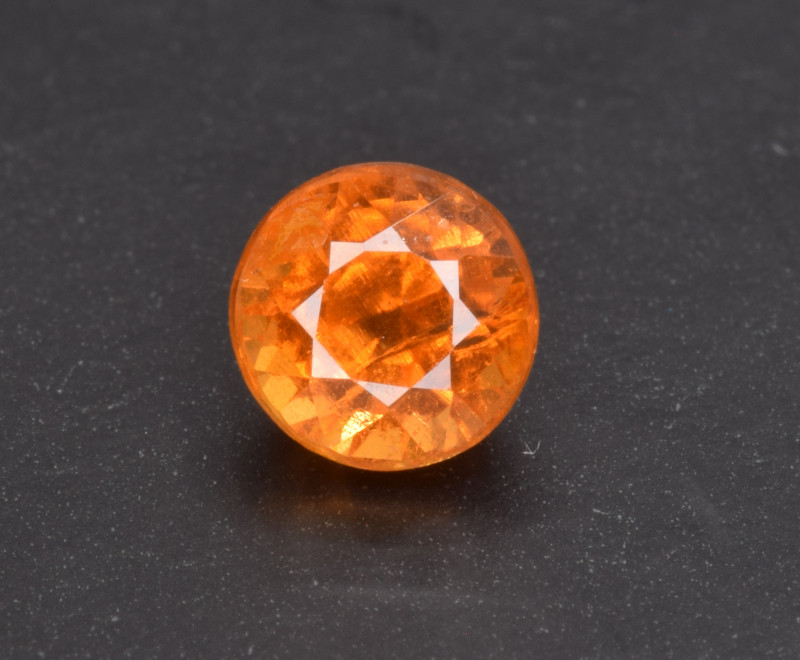 Natural Spessertite Garnet 0.87 Cts