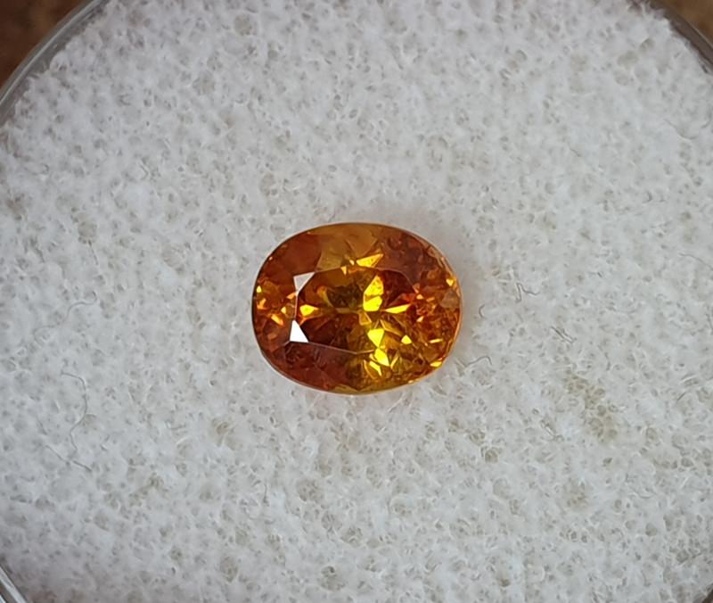 1,22ct Sphalerite - high dispersion gemstone!