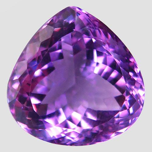 22.31Ct. Natural Rich Purple Amethyst Uruguay  Dazzling Unheated