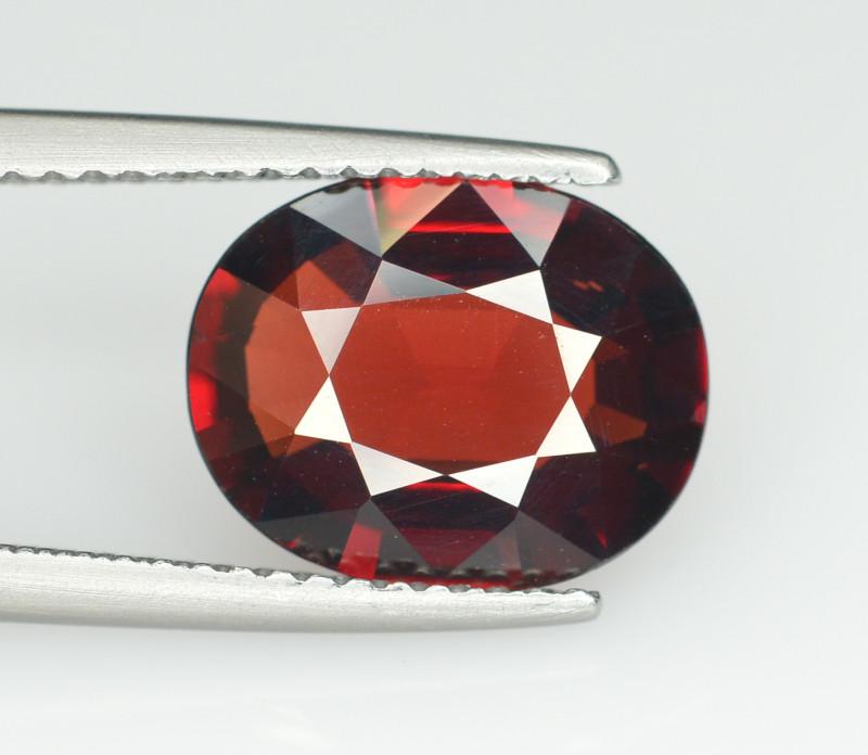 Reddish Orange Color 3.70 Ct Natural Spessartite Garnet.
