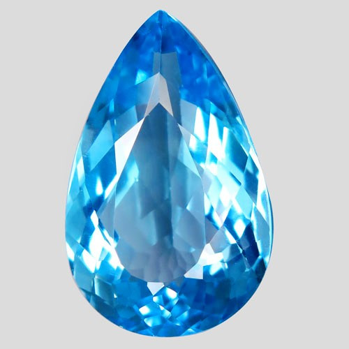 28.53 ct.  Natural Topaz Top Quality Sky Blue  Brazil – IGE Certificate