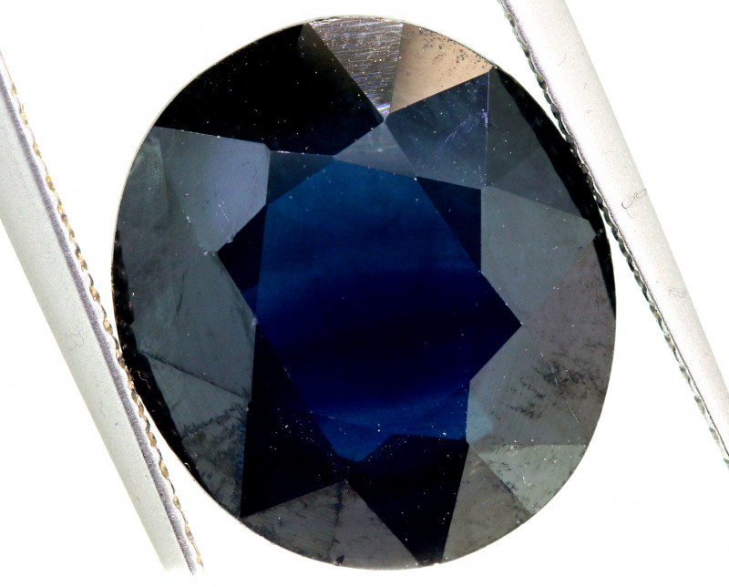 10.30-CTS AUSTRALIAN  BLUE SAPPHIRE  FACETED PG-3207