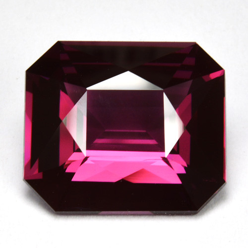 Certified 3.32 Cts ~BEAUTIFUL~ Natural Purplish Pink Spinel Octagon Srilank
