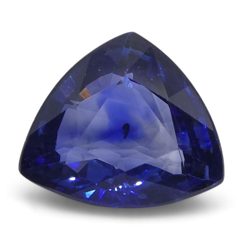 1.87 ct Trillion Sapphire