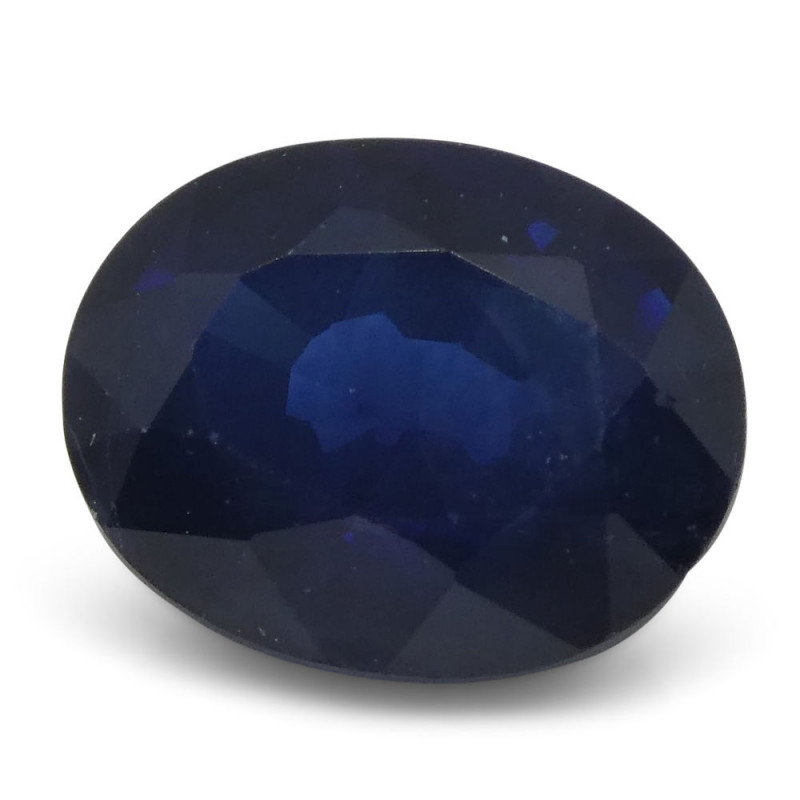 1.28 ct Oval Sapphire Thailand