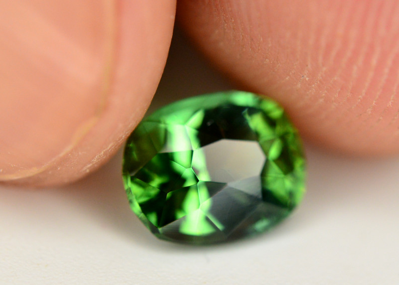 Mint Green Color 1.45 Ct Tourmaline From Afghanistan. ARA1
