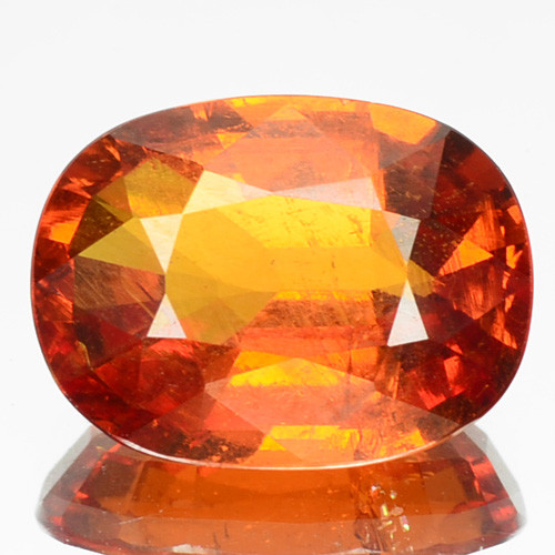 4.60 Cts Unheated Natural Mandarin Orange Spessartite Garnet OvalCut Namibi