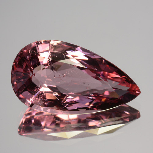 5.10 Cts Dazzling Natural Pear Tourmaline Mozambique