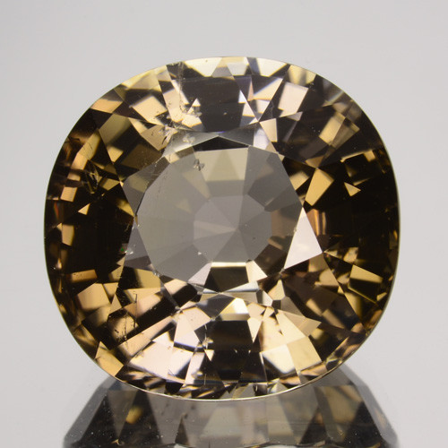 11.30 Cts GORGEOUS NATURAL BROWN TOURMALINE MOZAMBIQUE (Video Avl)