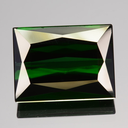 5.48 Cts Natural Neon Green Tourmaline Octagon Cut Nigeria