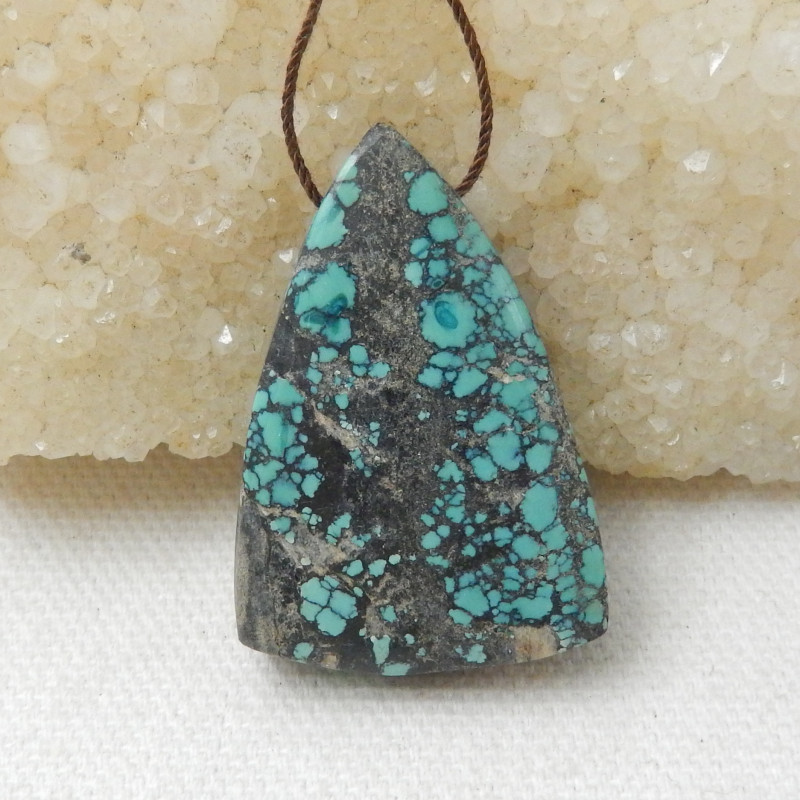 66.5cts Natural turquoise  Pendant, Birthstone, Turquoise Bead E740