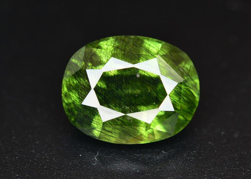 6.05 CT Natural Beautiful Rutile Peridot Gemstone