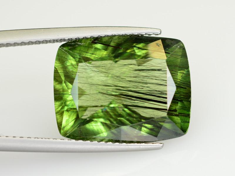 11.80 CT Natural Beautiful Rutile Peridot Gemstone