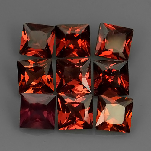 6.80 Cts_Marvelous_Electric Red_Africa_Sizzling_Rhodolite_~
