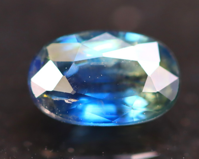 Unheated Sapphire 1.01Ct Natural Parti Color Unheated Sapphire B1137